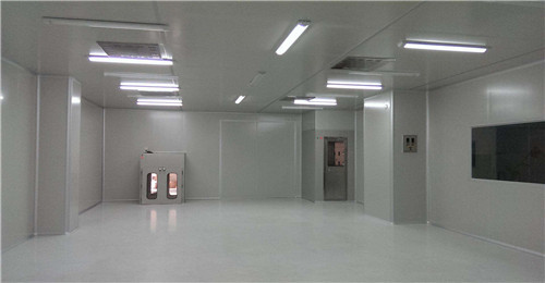 纳米净化板应用于食品加工车间
